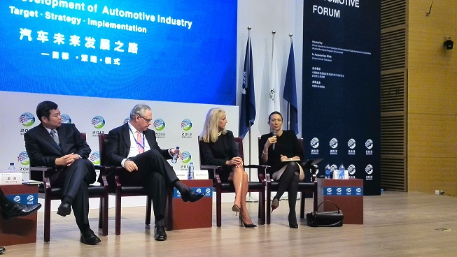 Vanessa Moriel Speaks at the 4th Annual Global Automotive ...