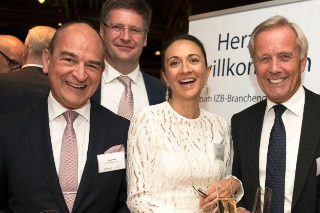 Left to right: Erwin Doll, President and CEO, Roechling Automotive; Axel Joachim Maschka, Senior Vice President Sales and Business Development, Valeo Group; Vanessa Moriel, Managing Director Asia, LIASE Group; and Wolfgang Sczygiol Business Development Manager, Brose.