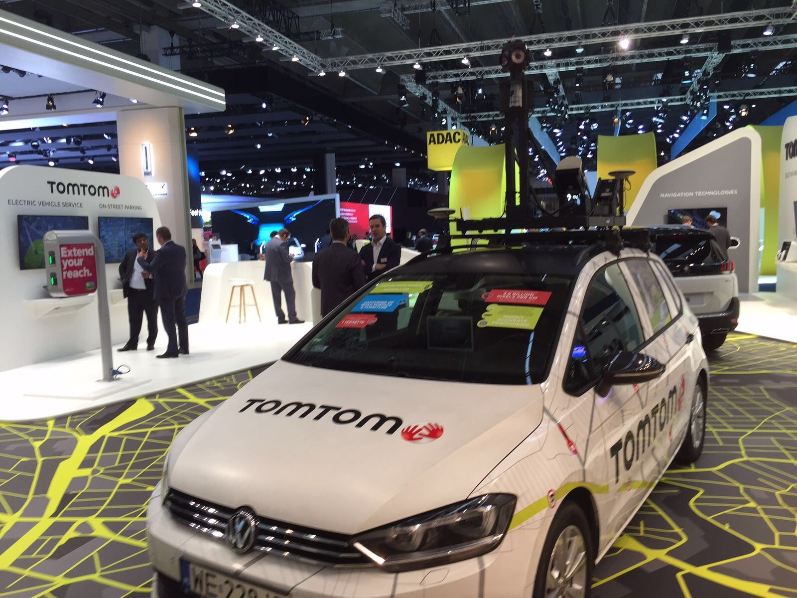 TomTom announced a deal with Daimler who will use TomTom maps for its infotainment platform in North America. They also showcase their real-time EV charging service, which has been developed to help EV drivers to make informed decisions about when and where to charge their vehicles, reducing range anxiety.