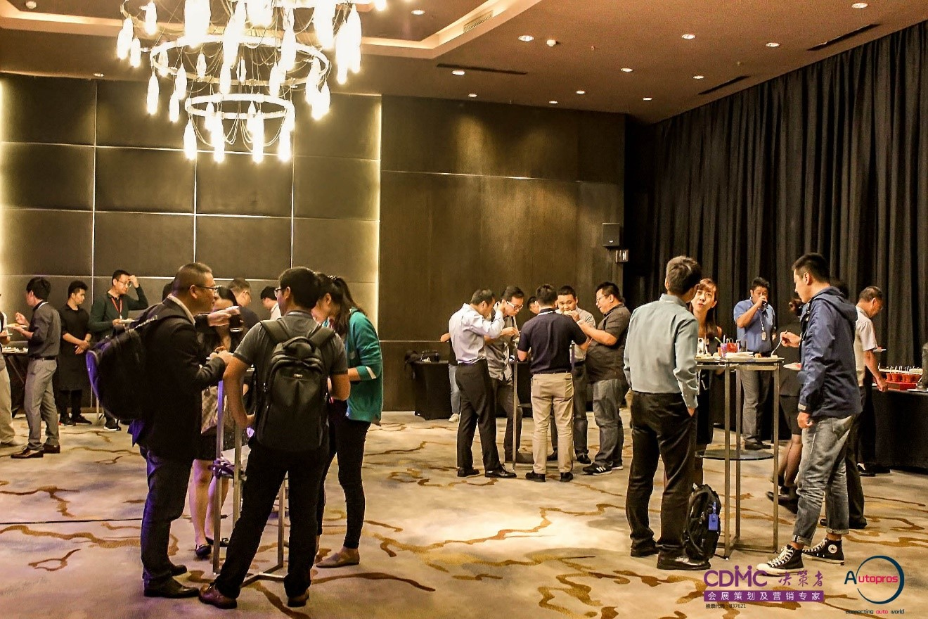 The 2-day event included a cocktail reception for intelligent vehicle professionals.
