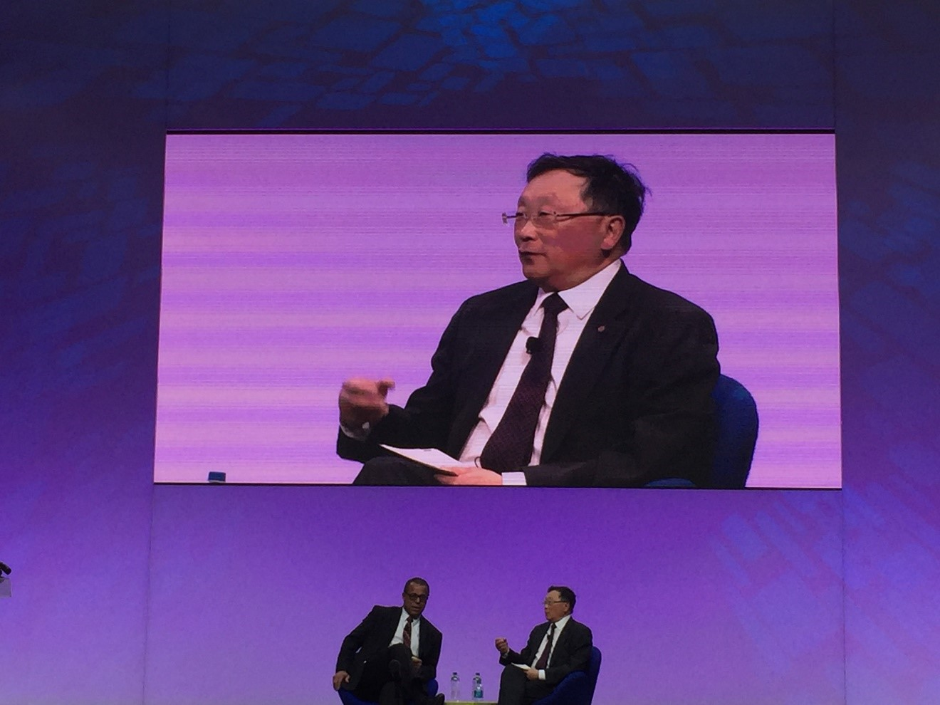 Mr. John S. Chen, CEO of Blackberry.