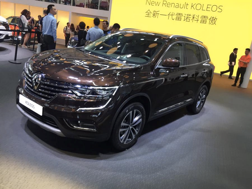 "The new Renault Koleos SUV aims to take on the global market with its blend of style, power and quality. Renault tagged it with the signature, ""every inch an SUV and every inch a Renault."""
