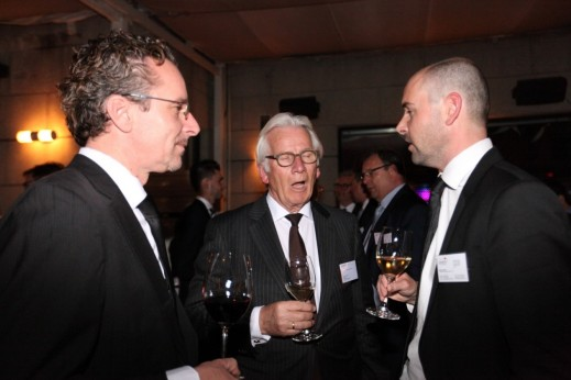 Left to right: Inalfa Roof Systems Group, CEO Asia, Daniele Giannetti; RAI Industry Platform, Chairman of the Board, Eddy van der Vorst; and, Inalfa Roof Systems Group, VP Business Development and Sales, Bas Toering.