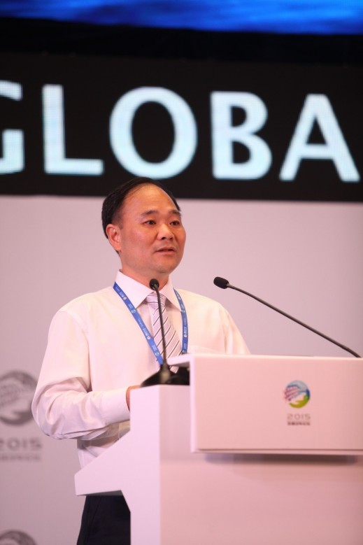 Li Shufu, Chairman of the Geely Group.
