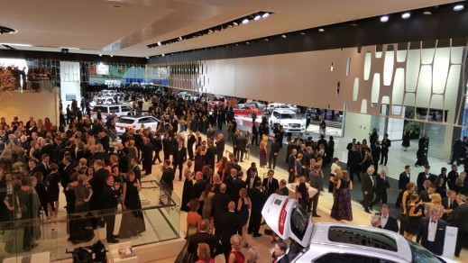 There were more than13,000 attendees at the 2016 North American International Auto Show's 40th annual Charity Preview at Cobo Center. Guests were able to mingle on the showroom floor and get a first look at 750 vehicles before the public opening.