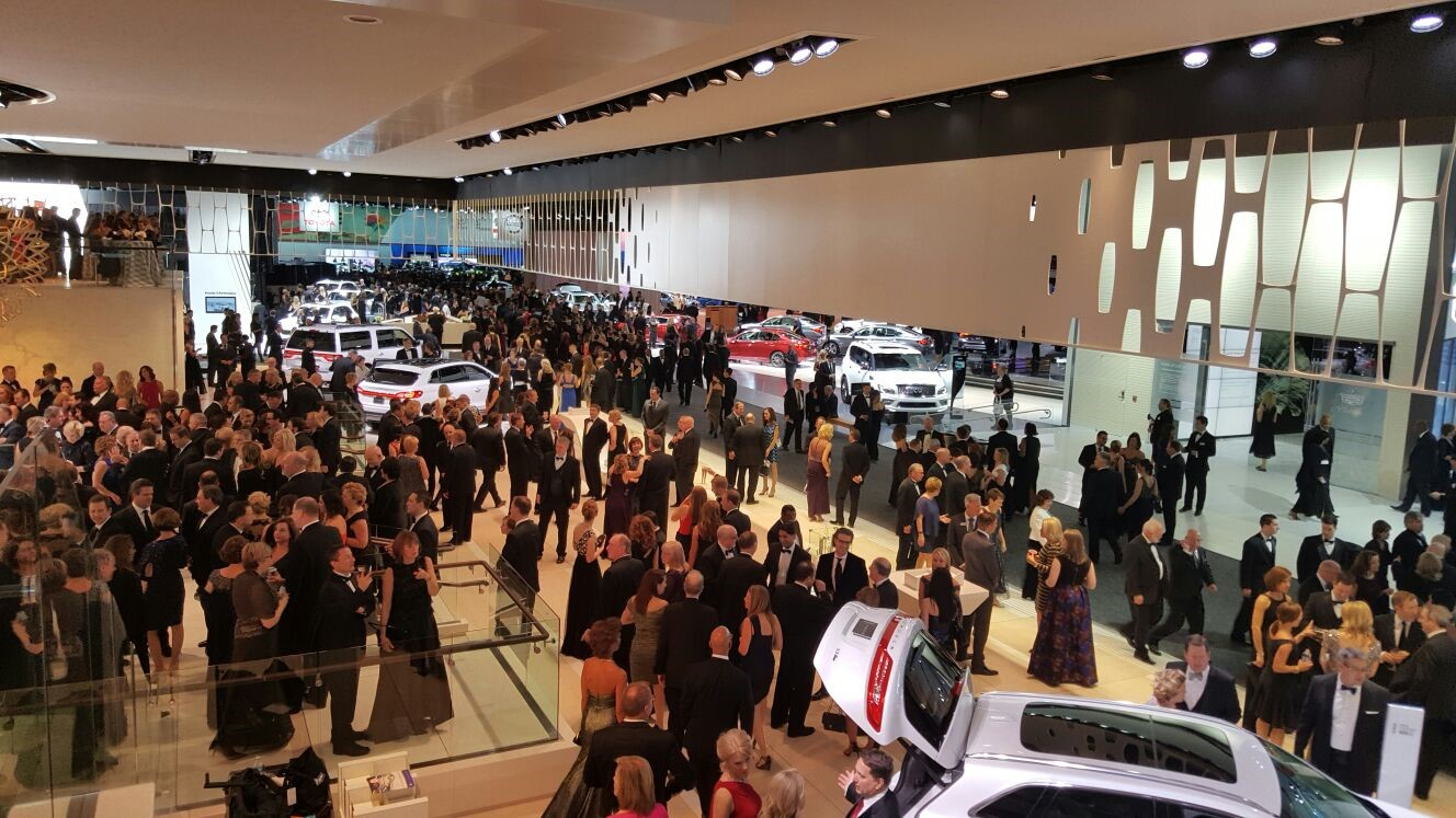 Liase group attends ces 2016 and the detroit auto show for Charity motors auction in detroit mi