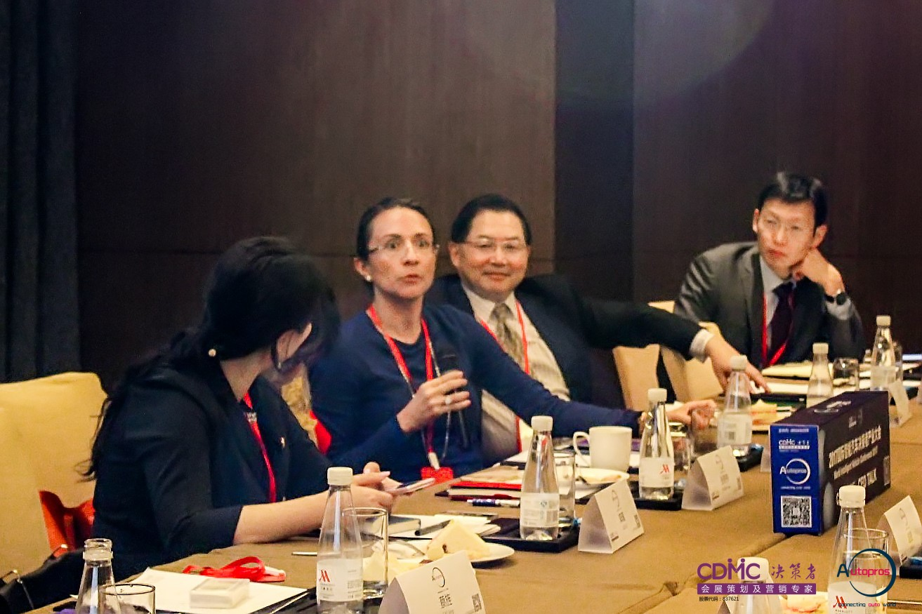 Vanessa Moriel during the CEO session of IVC 2017 in Shanghai.