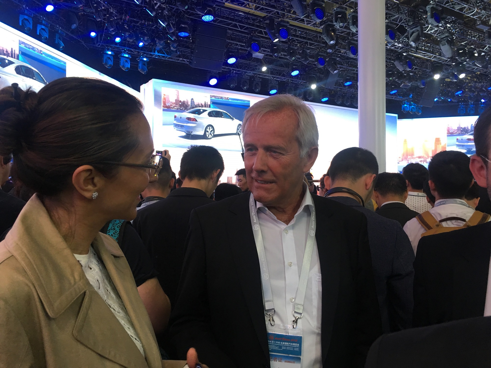 LIASE Group Managing Director Asia speaks with Brose-SEW CEO Wolfgang Sczygiol.