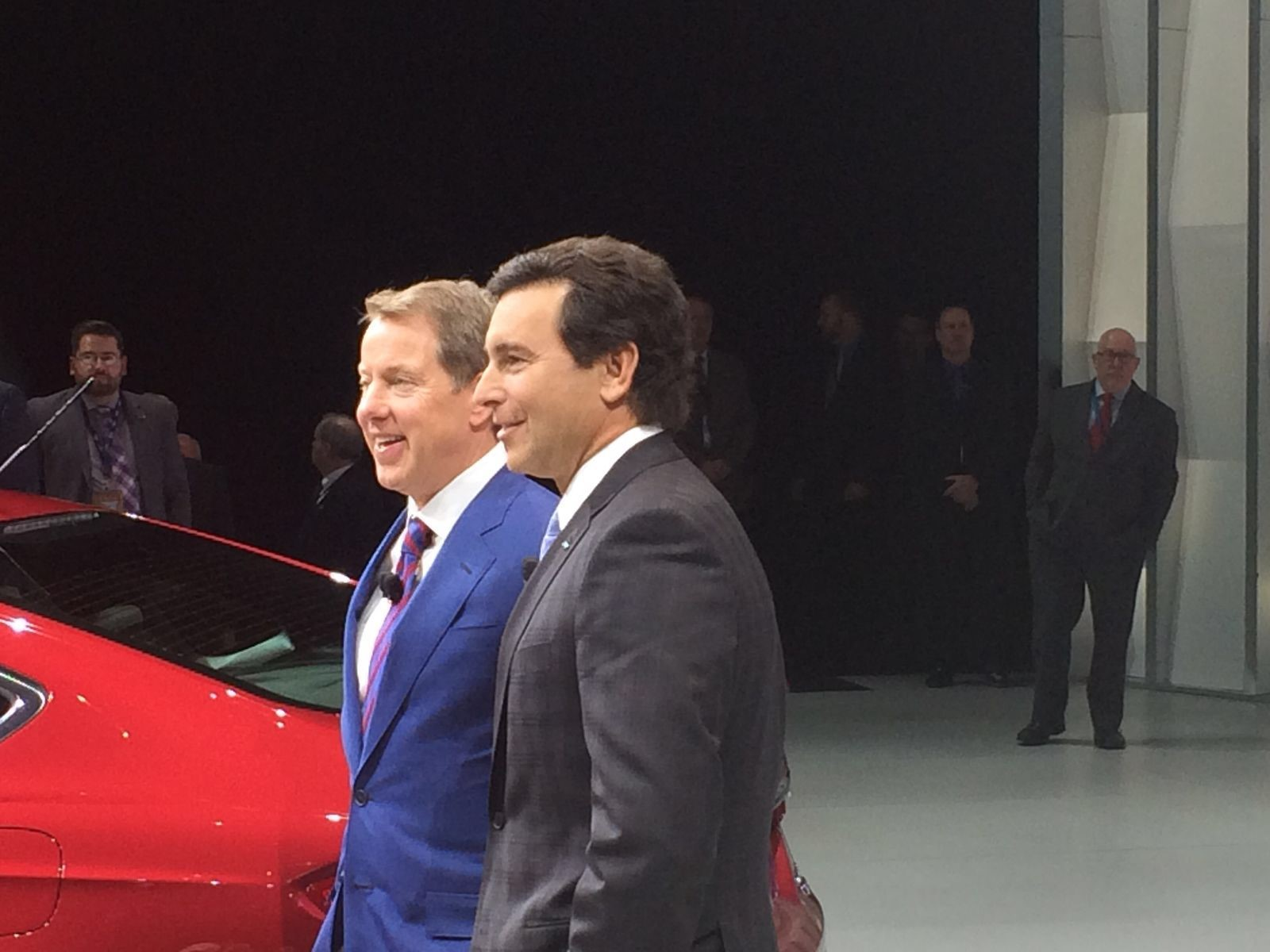 Liase group attends ces 2016 and the detroit auto show for Ford motor company executives