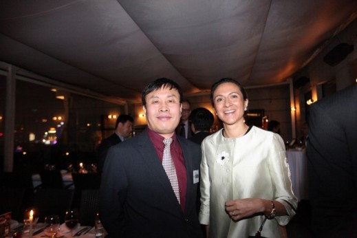 Global Automotive Forum, Secretary General, James Chai and LIASE Group, Managing Director, Vanessa Moriel.