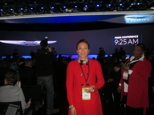 Vanessa Moriel, Human Capital Partners MD Asia-Pacific, at the Chrysler press conference.