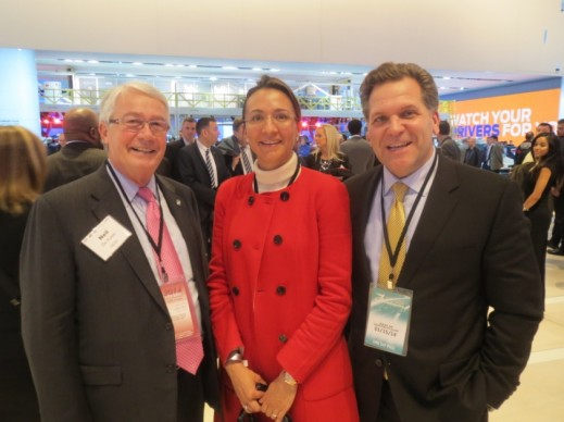 Left to right: Neil De Koker, Founding President and CEO of the Original Equipment Suppliers Association (OESA); Vanessa Moriel, Human Capital Partners MD Asia-Pacific; and, John Bukowicz, LIASE Group MD America.