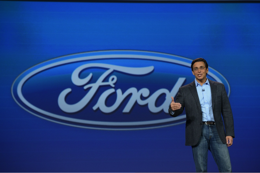 Vanessa moriel joins automotive executives at the 2015 ces for Ford motor company leadership